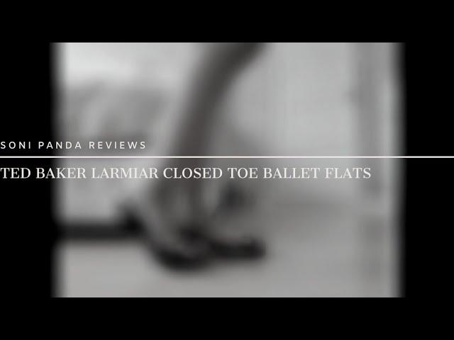 TED BAKER LONDON Womens Larmiar Ballet Flat