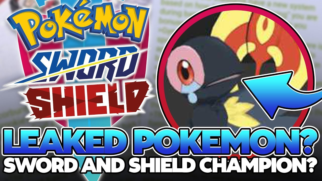 Pokemon Sword And Shield New Rumours Regional Bird Pokemon Leaked