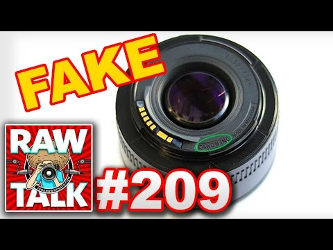FroKnowsPhoto RAWtalk 209: Watch Out For FAKE Canon Lenses, Camera Encryption and Nikon Does 360