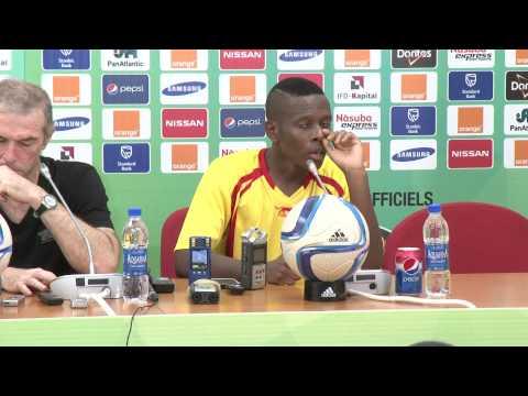 Guinée - Conférence de presse (01/02) - Orange Africa Cup of Nations, EQUATORIAL GUINEA 2015
