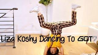 Liza Koshy Dancing To GOT7