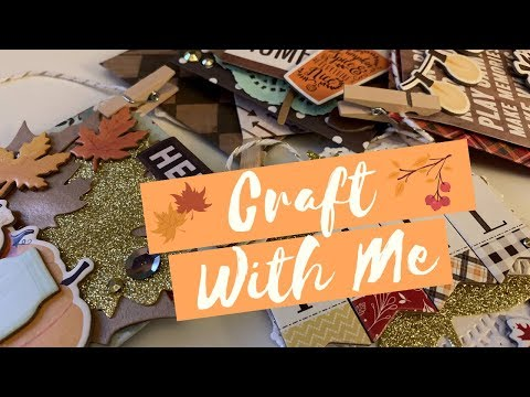Craft With Me : Fall Themed Envelope Banner