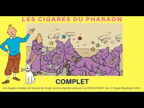 LES CIGARES DU PHARAON - complet