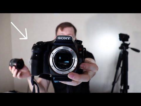 Sony A65 - Альтернатива Canon 600D - бюджетная зеркалка для видеоблогов