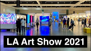 LA ART SHOW 2021 Walk Around 4K UHD