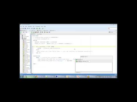 Oracle Database Exception Handling