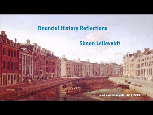 Reflection on cryptocurrency developments in relation to financial history