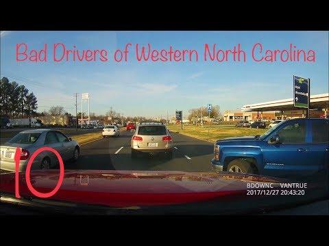 "Bad Drivers of Western North Carolina 10 | ""You're an Idiot!"""