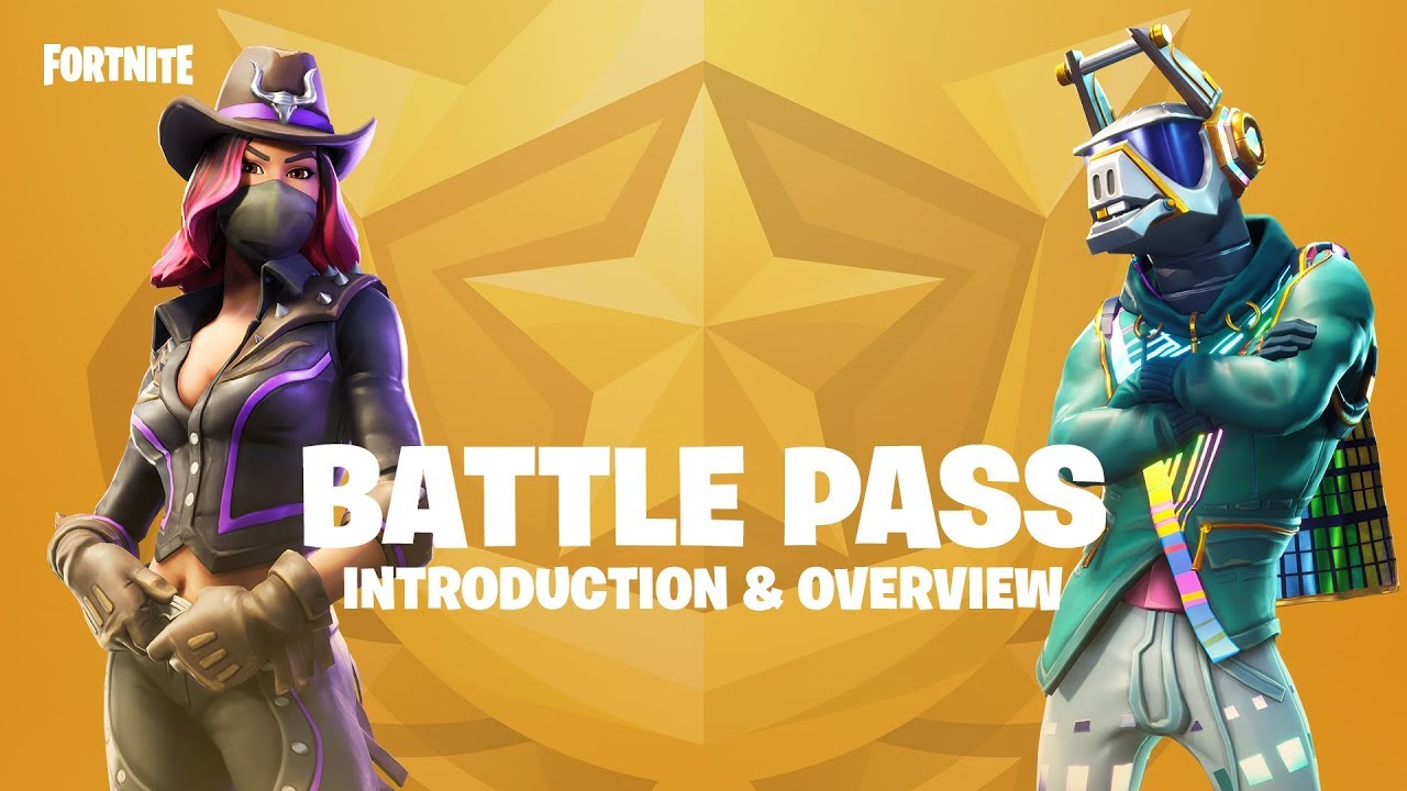 Fortnite Battle Pass Introduction Overview Youtube