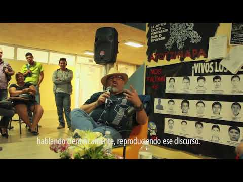 Visita de Javier Valdez en la UABCS