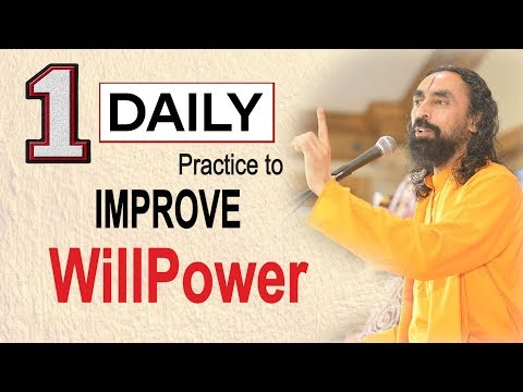 The ONE Daily Practice to Improve Your WillPower | Swami Mukundananda