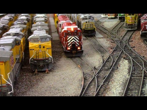 HO Scale: Kansas City Eastern with Santa Fe bonus!  Pt.1