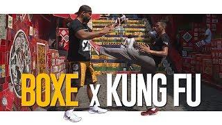 BOXE VS. KUNG FU | 👊 #BOXE | (Aula de Boxe e Kung Fu!)
