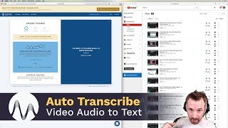 How to Automatically Transcribe Video (Convert Audio to Text)