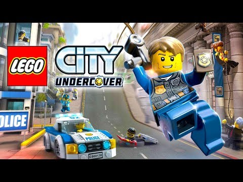 LEGO City Undercover- How to Unlock Badge- Uptown District Top of Library