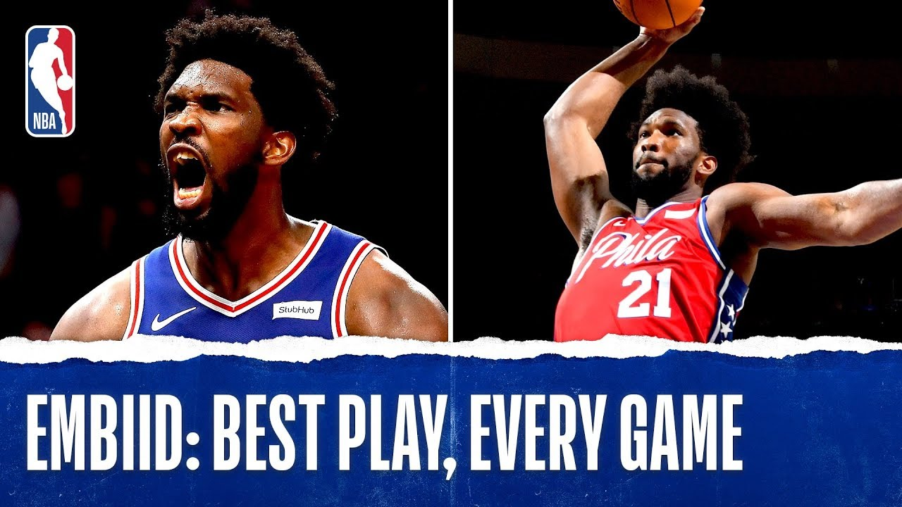 Joel Embiid's Best Plays From Every Game!