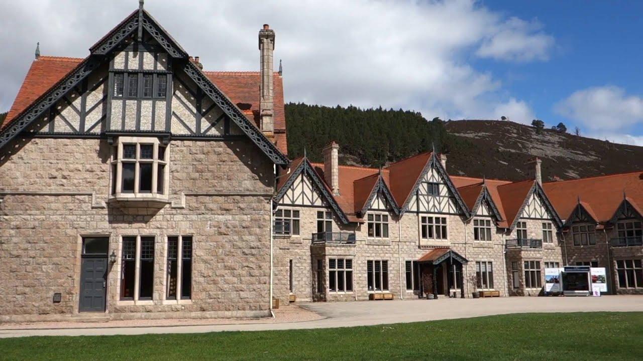 Tour of Mar Lodge near Braemar, Scotland, ancient hunting Lodge of the Duke  & Duchess of Fife