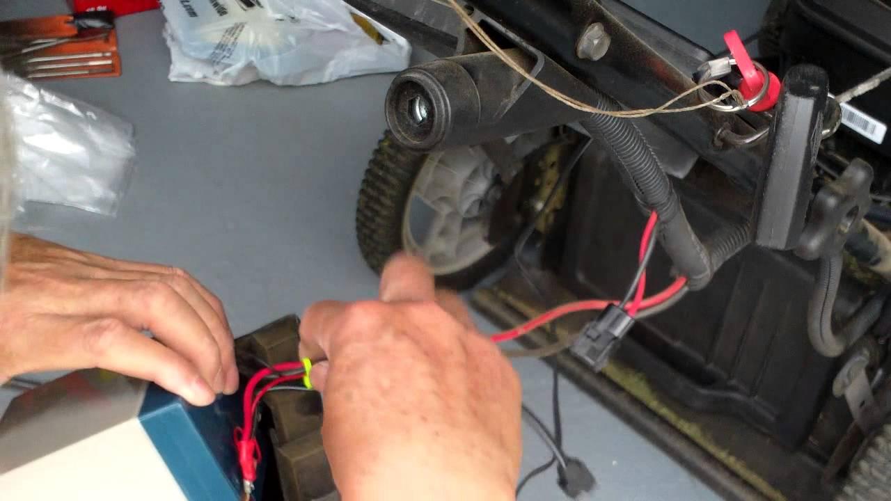 Adding A Solar Charge Option To My Craftsman Keystart Lawn