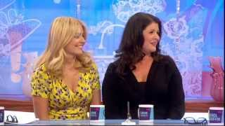Holly And Kelly Willoughby On Loose Women || 19th June 2013