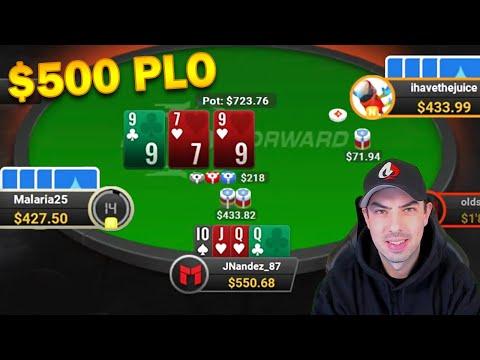 $2/$5 Fast Forward Pot Limit Omaha Cash Games! - Play & Explain