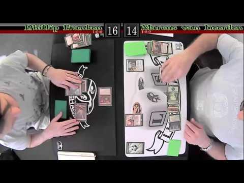 Round 2 - Phillip Franken (Mono-Red Madness) vs Marcus van Heerden (Naya Energy)