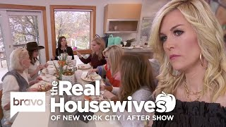 The Ladies Talk Bethenny & Luann Argument & Tinsley Wanting A Baby | RHONY After Show (S11 E11)