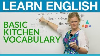 Learn English: Basic Kitchen Vocabulary