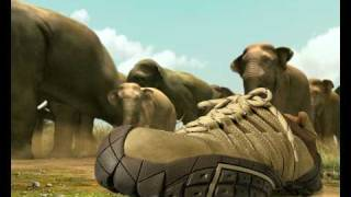 Woodland Shoes Elephant TVC