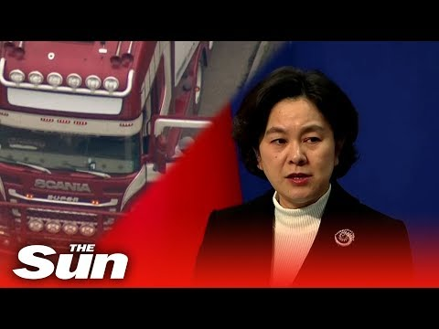 Essex lorry deaths - China calls for 'severe punishment'