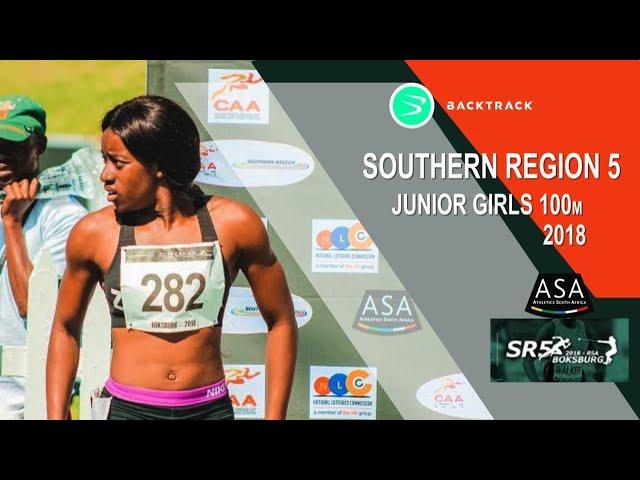u20 Women 100m Finals