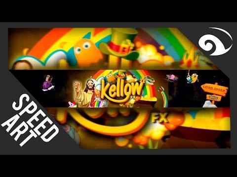 Speed Art Banner - Kellow ~ Gera Art
