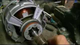 moteur de machine à laver modifié générateur