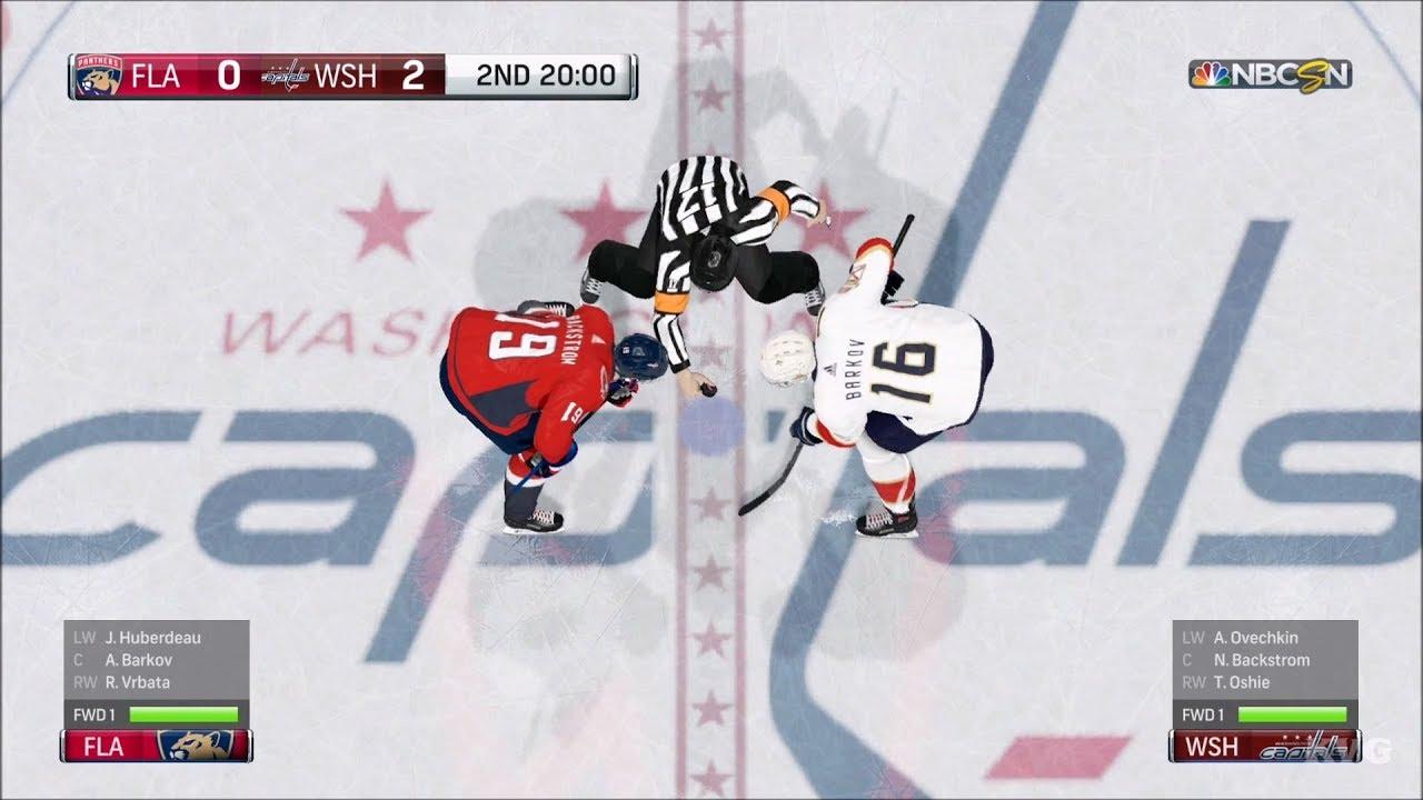 NHL 18 - Washington Capitals vs Florida Panthers - Gameplay (HD)   1080p60FPS  8f88a806ab45
