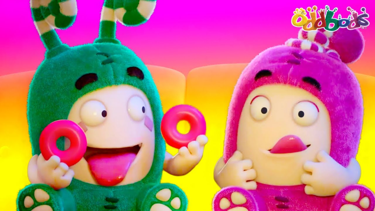 Oddbods | NEW | LEAPING WITH JOY | Funny Cartoons For Kids