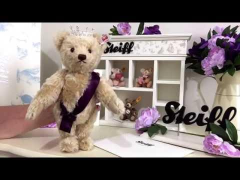 Steiff Queen Elizabeth 11 90th Birthday Bear 690020