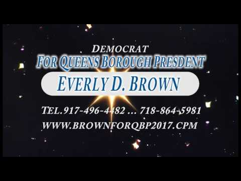 Vote Everly Brown for Queens Borough President