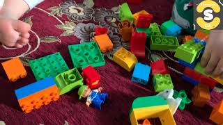 lego duplo cube kids playing with this lego toys
