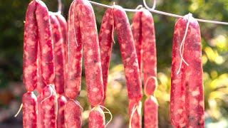 [Eng Sub] Cách Làm Lạp Xưởng đơn giản tại nhà - How to make Chinese Dried Sausage
