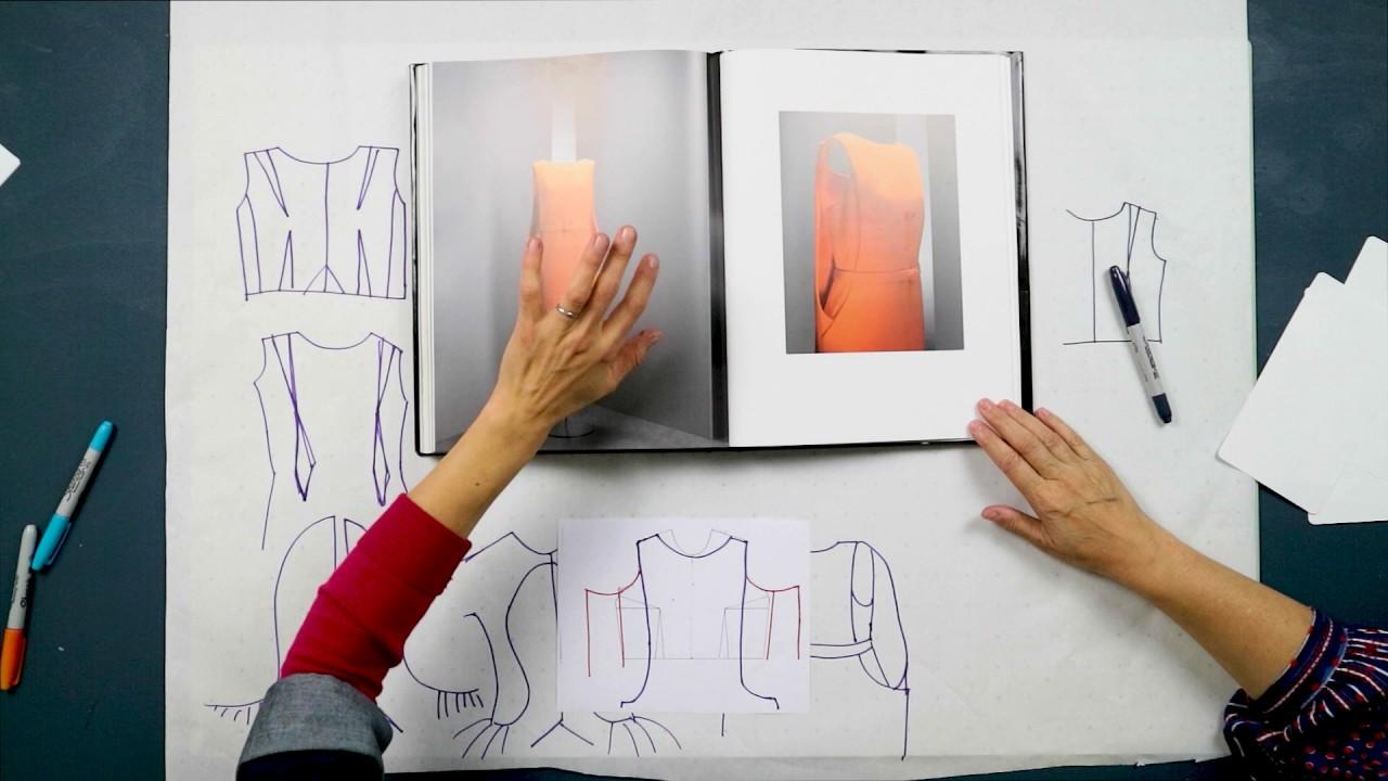 Canoa Creazione istruttore  Analysing 4 beautiful Balenciaga Darts ✂️👗✏️- Pattern Cutting ...