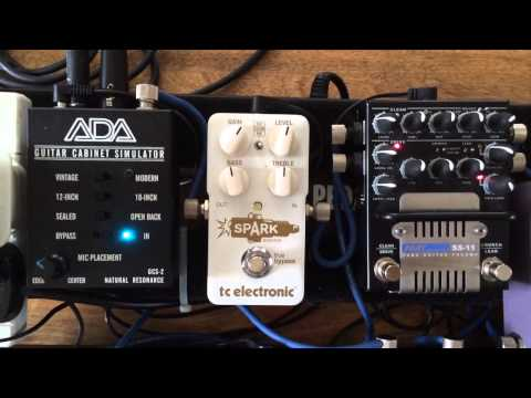 AMT SS-11 Preamp A/DA GCS-2 Pedalboard Demo