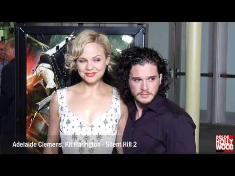 Adelaide Clemens, Kit Harington - Silent Hill: Revelation Premiere Red Carpet/Alfombra Roja