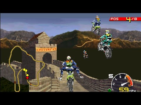 PSX Longplay #80:  Moto Racer