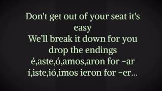 spanish preterite song for ar er ir verbs