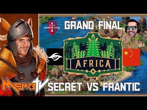 ECL Grand Final Africa 3v3 Secret vs Frantic