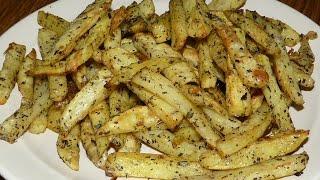 Картошка фри в духовке. Картофель запеченный в духовке. Картошка фри в домашних условиях