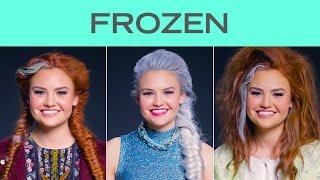 Frozen Transformation Time-Lapse | Disney Style