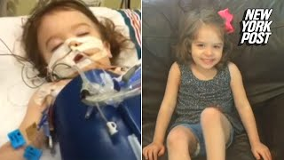Brain-damaged toddler miraculously healed by oxygen chamber | New York Post