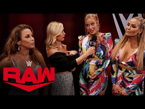 Mickie James is confronted by Natalya & Lana: Raw, Aug. 10, 2020