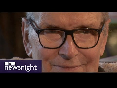 Oscar winner Ennio Morricone on BBC Newsnight