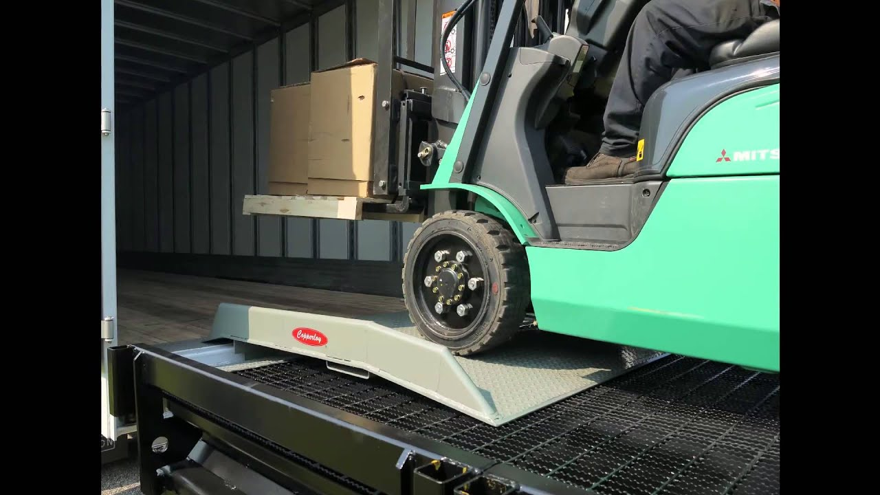 Dock Boards By Copperloy For Loading Amp Truck Docks Youtube